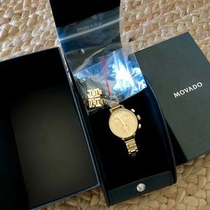 Movado watch *reserved for @retirementa !!!*